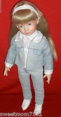 Knickerbocker Magic Attic Alison Doll w/ high quality original custom outfit