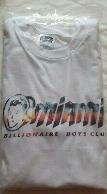 Billionaire Boys Club. Men's White T-shirt. Miami Palm Shore. Small. Brand New