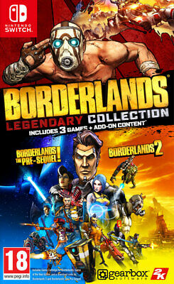 Borderlands: Legendary Collection (Switch) BRAND NEW AND SEALED - QUICK DISPATCH