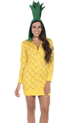Easy Costumes For Women (Fun Pineapple Comfortable Halloween Costume Dress For Women Size S With)