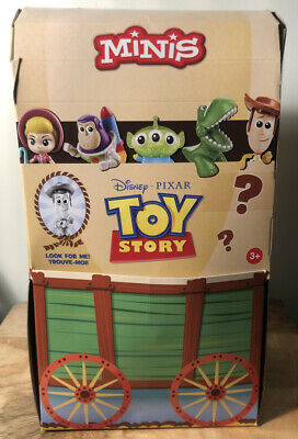 Disney Pixar Toy Story Minis Andys Toy Chest Series Empty Display Case Box 2020