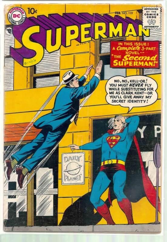 SUPERMAN #119