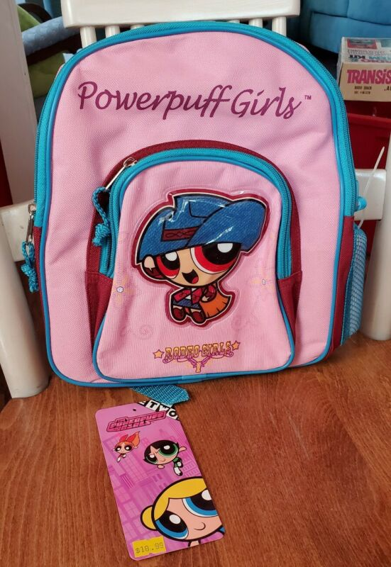 Powerpuff Girls Rodeo Girls Mini Toddler Backpack Pink- NwT Cartoon Network