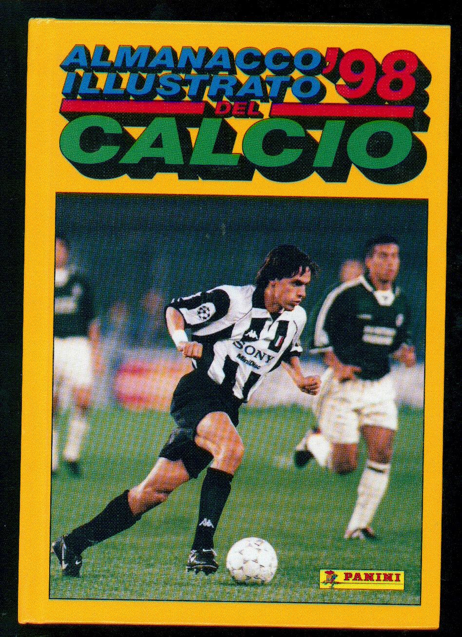 ALMANACCO ILLUSTRATO DEL CALCIO 1998 PANINI SPORT