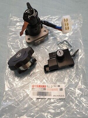 GENUINE <em>YAMAHA</em> RD350LC IGNITION SEAT FUEL CAP 4L0 W8201 00 4L0W820100