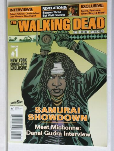 The Walking Dead #1 Official Magazine NM New York Comicon Exclusive cover