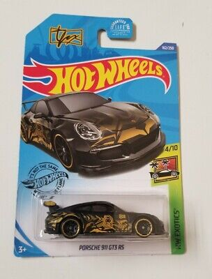2020 Hot Wheels Porsche 911 GT3 RS * TFOX * NIP 1:64 Scale