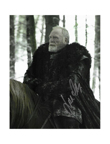 """8x10"""" Game of Thrones Print Signed by James Cosmo 100% Authentic + COA"""