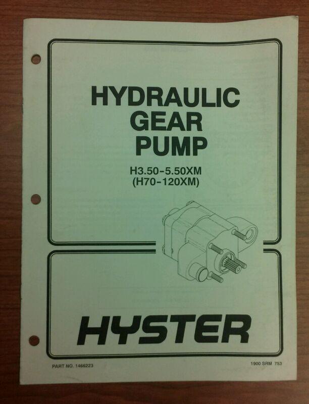HYSTER HYDRAULIC GEAR PUMP H70-120XM (1466223)