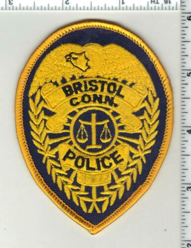 Bristol Police (Connecticut) 2nd Issue Cap/Hat Patch