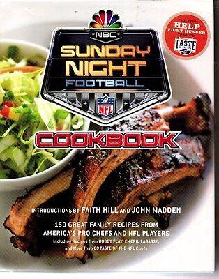 Nbc Sunday Night Football Cookbook Nfl Players   Pro Chefs Recipes