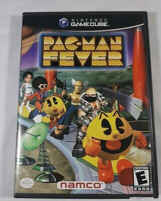 Pac-Man Fever (Nintendo GameCube, 2002) With manual