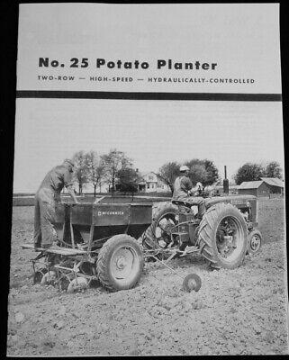 Ih Mccormick No. 25 Potato Planter Brochure International Harvester Farmall