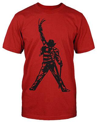 Freddy Jackson T-Shirt Jason Fun Dj Music Sprüche Kult Horror Retro King Pop ()
