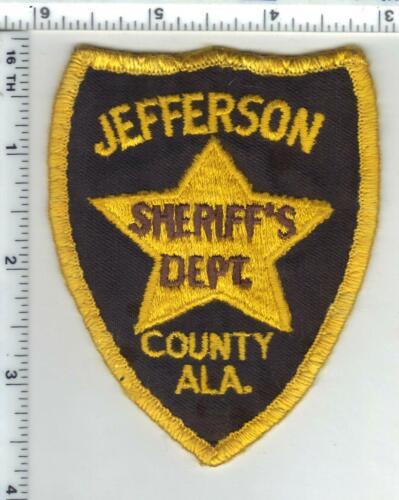 Jefferson County Sheriff (Alabama) 1st Issue Uniform Take-Off Shoulder Patch