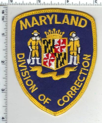 Division of Correction (Maryland) uniform take-off shoulder patch from 1980