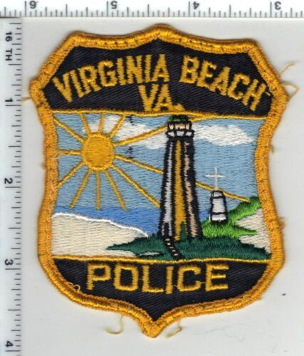 Virginia Beach Police (Virginia) 1st Issue Uniform Take-Off Shoulder Patch