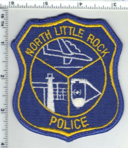 North Little Rock Police (Arkansas) 1st Issue Uniform Take-Off Shoulder Patch