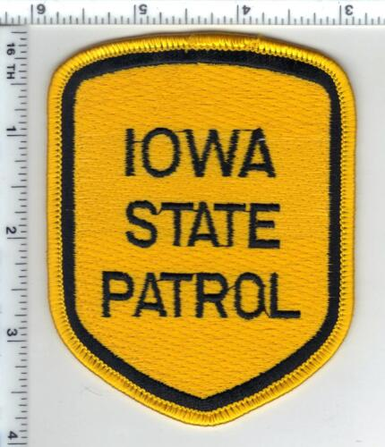 State Patrol (Iowa)  Shoulder Patch - new from the 1980