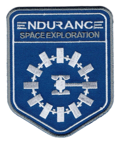 Nasa Time travel Aliens Interstellar Endurance HOOK PATCH