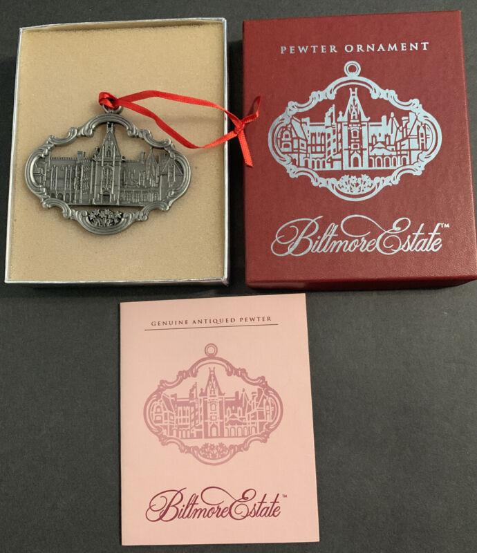 Biltmore Estate Pewter Ornament  in Box 1998 Beautiful
