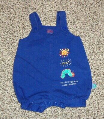 Carters Baby Boys Very Hungry Catepillar Romper Navy Blue Size 3-6 Months EUC ](Very Hungry Catepillar)