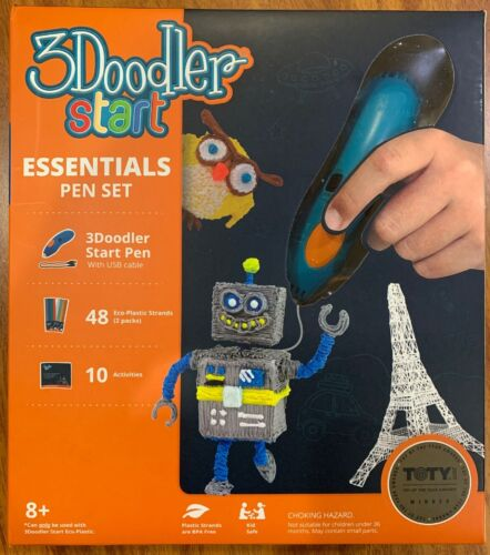 BRAND NEW! SEALED! 3Doodler Start Essentials Pen Set