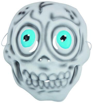 Rubies 6240347 - Kindermaske Skelett, Maske mit Gummiband, Kinder Kostüm Zubehör (Kinder Skelett Maske)