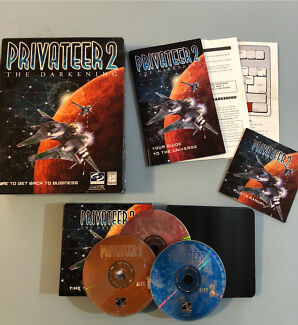 PC Game - Privateer 2 The Darkening - Complete in Box