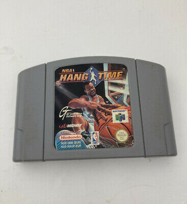 NBA Hang Time - Nintendo 64 - N64 - Cartridge Only *FULLY TESTED* Hangtime