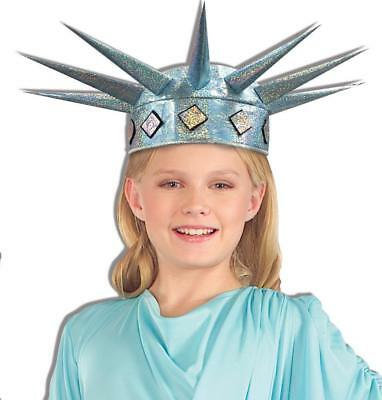 Lil Miss Liberty Tiara Statue USA Fancy Dress Halloween Child Costume Accessory - Miss Usa Halloween Costume