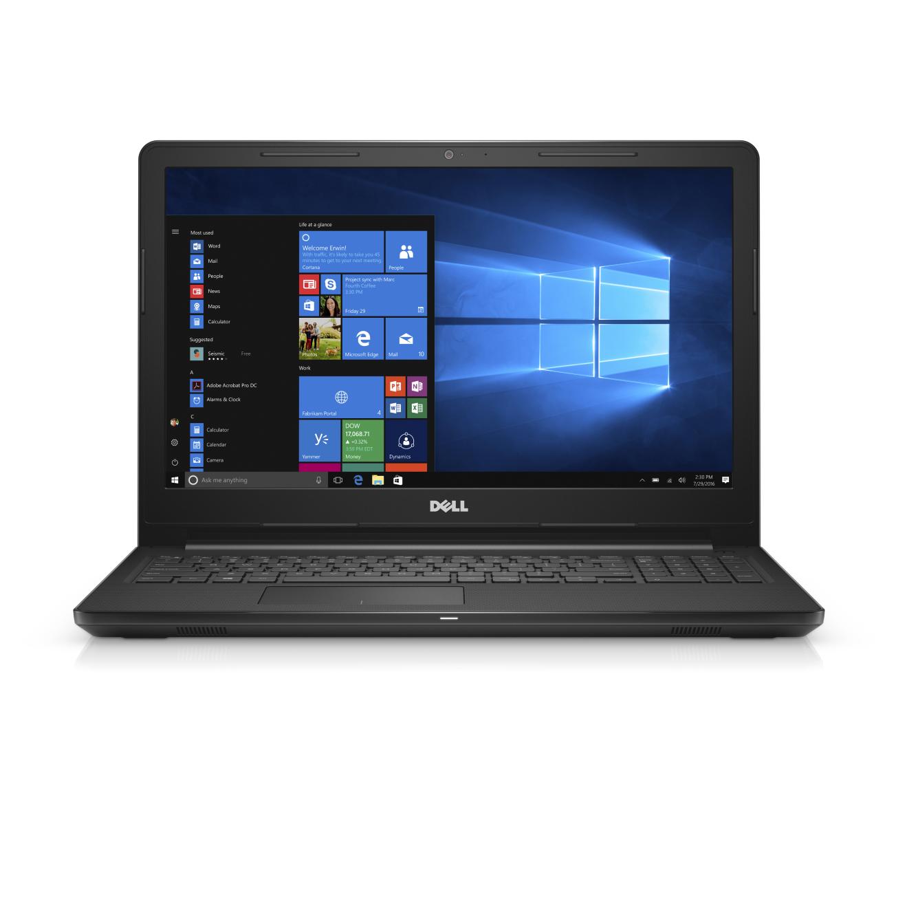 "Dell Inspiron 3567 Intel 7th i3-7130 8GB 1TB 15.6"" Win 10 One Year Dell Warranty"
