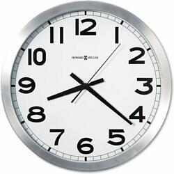 Howard Miller Spokane Wall Clock 625-450 – Modern & Round with Quartz Movement