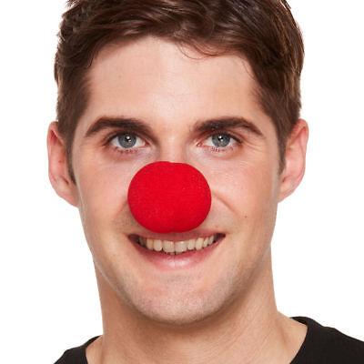 rot Schwamm Nase - Clown Zirkus Witz Kostüm Verkleidung Zubehör Comic Relief