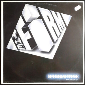 THE-FIRM-Radioactive-Spain-Ariola-1985-MaxiSingle-Jimmy-Page-Paul-Rodgers
