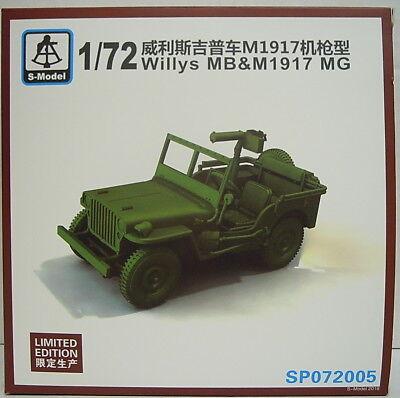 Willys MB und MG Mod.1917, 1/72, S-Model ,Limitierte Sonderauflage , NEU