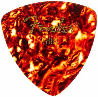 346 Shape Shell (Fender 346 Shape Celluloid Guitar Picks - SHELL, THIN - 72-Pack (1/2 Gross) )
