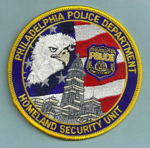 PHILADELPHIA PENNSYLVANIA POLICE SPECIAL UNIT PATCH