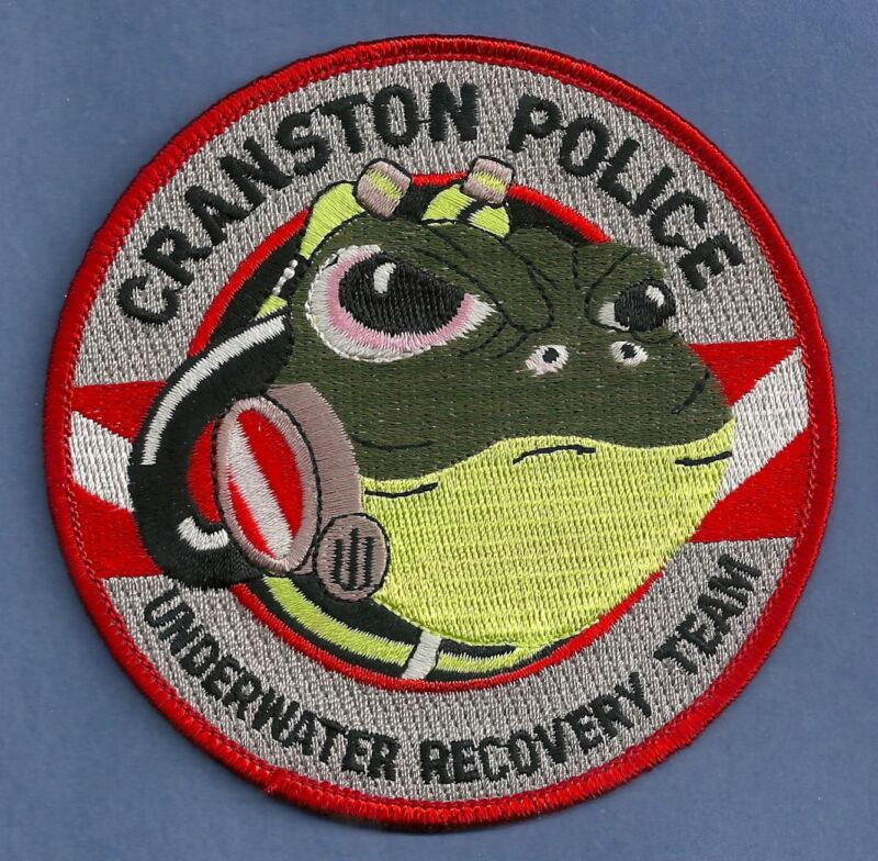 CRANSTON RHODE ISLAND POLICE DIVE RESCUE TEAM SHOULDER PATCH