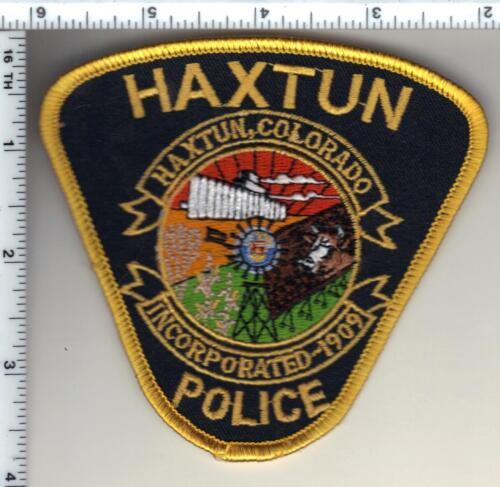 Haxtun Police (Colorado) Shoulder Patch - new from 1993