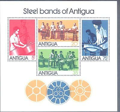Antigua 1974 Steel Bands MS SG 398 MNH
