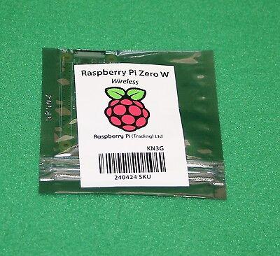 Raspberry Pi Zero W (Wireless) NEW, (ships in BOX, not padded envelope)