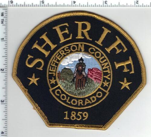 Jefferson County Sheriff (Colorado) Uniform Take-Off Shoulder Patch