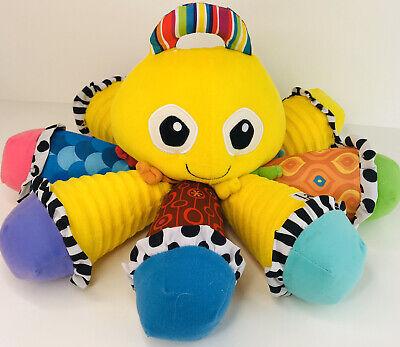 Lamaze Octotunes Sensory Development Baby Toy~Musical Squeak Octopus~BP4