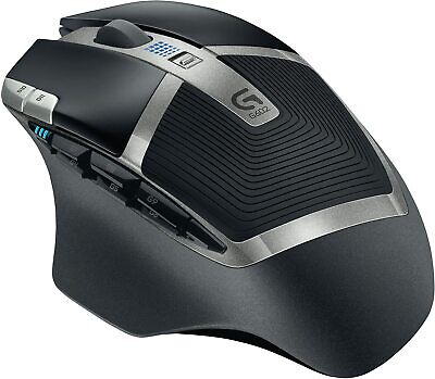 Logitech G602 Gaming Wireless Mouse 2500 DPI 11 Programmable Buttons