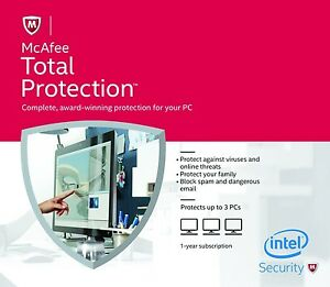 mcafee total protection download reinstall