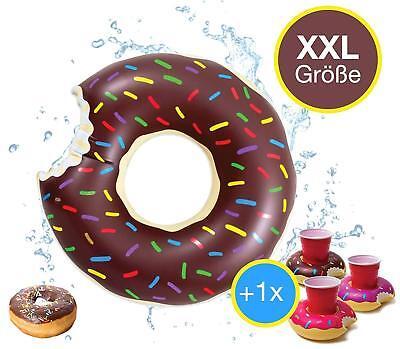 ngebissener Donut Schwimmring Schwimmreifen, Getränkehalter (Aufblasbare Reifen)