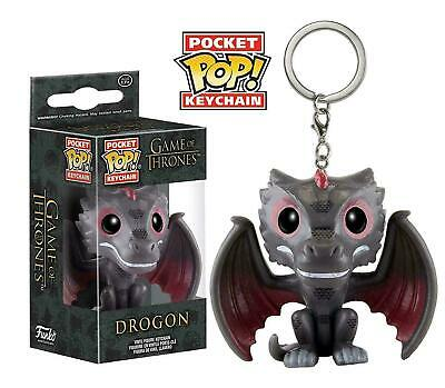 Funko Pocket Pop! Drogon HBO Game of Thrones Keychain Keyring
