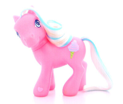 "My Little Pony G3 ""COTTON CANDY"" (from Cotton Candy Cafe 2003) Vintage *good"