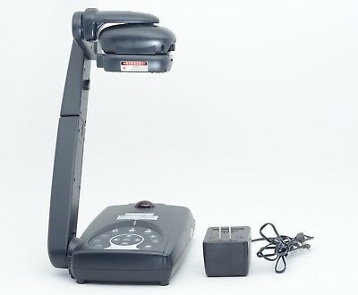 Avermedia Avervision 300p P0d3 Portable Document Camera W Power Supply Tested